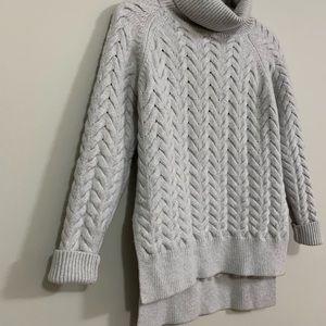 Aritzia Wilfred turtleneck wool sweater